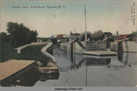 Lower Lock, Erie Canal, Newark, N.Y. [front caption] (1front) [e0475ac1]