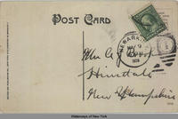 Lower Lock, Erie Canal, Newark, N.Y. [front caption] (2back) [e0475ac2]