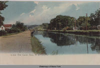 Erie Canal, Ilion, New York [front caption] (1front) [e0445ac1]