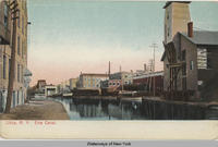 Utica, New York  Erie Canal. [front caption] (1front) [e0463ac1]