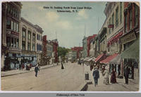 State St. looking North from Canal Bridge, Schenectady, N.Y. [front caption] (1front) [e0478ac1]