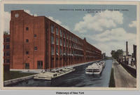REMINGTON ARMS & AMMUNITION CO AND ERIE CANAL ILION N Y [front caption] (1front) [e0454ac1]
