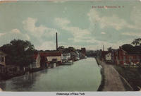 Erie Canal, Fultonville, New York [front caption] (1front) [e0455ac1]