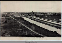 BIRD'S-EYE VIEW OF CLYDE, New York   [front caption] (1front) [e0426ac1]