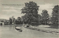 Seneca  River at Locust Street, Waterloo, N.Y.[front caption] (1front) [s0021ac1]