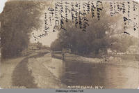 Lock, AT. Montezuma, New York [front caption] (1front) [e0468ac1]