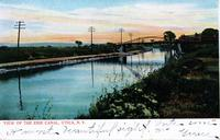 VIEW OF THE ERIE CANAL, UTICA, N.Y. [front caption] (1front) [e0258ac1]