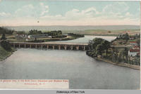 A general view of the Erie Canal Aqueduct and Rexford Flats, Schenectady, N.Y. [front caption] [1front] [[e0450ac1]