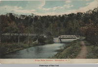 Bridge Below Aqueduct. Schenectady, N.Y. [front caption] (1front) [e0452ac1]