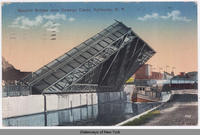 Bascule Bridge over Oswego Canal, Syracuse, N.Y. [front caption] (1front) [w0020ac1]