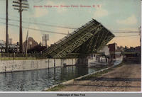 Bascule Bridge over Oswego Canal, Syracuse, N.Y. [front caption] (1front) [w0017ac1]