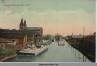 Seneca Canal, Waterloo, N.Y.[front caption] (1front) [s0028ac1]
