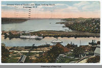 General View of Harbor and River, looking South, Kingston, N.Y. [front caption] (1 front) [h0076ac1]