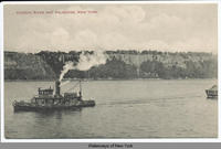 HUDSON RIVER AND PALISADES, NEW YORK. [front caption] (1front) [h0081ac1]