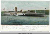 "HUDSON RIVER DAY LINE STEAMER ""ALBANY""  [front caption] (1front) [h0095ac1]"