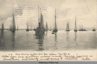 Misty Morning on New York Bay [front caption] (1front) [h0037ac1]