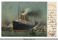 HARBOR SCENE NEW YORK [front caption] (1 front) (h0063ac1)