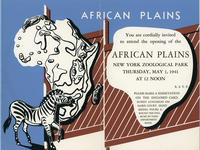 Invitation to opening of African Plains exhibit