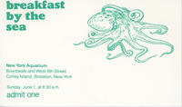 Admission ticket to Breakfast by the Sea event, New York Aquarium