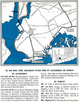 Map and Directions to the New York Aquarium