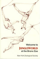 Pamphlet for Jungle World exhibit at the Bronx Zoo, 1985