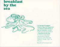 Invitation to Breakfast by the Sea event, June 1, 1886, New York Aquarium