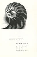 Program for Breakfast by the Sea event, May 6 and 7 1978, New York Aquarium