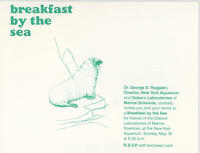 Invitation to Breakfast by the Sea event, May 19, 1985, New York Aquarium