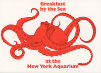 Invitation to Breakfast by the Sea event, August 20, 1989, New York Aquarium