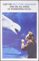 Brochure, New York Aquarium, 1986