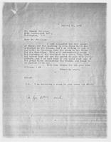 JRF to Mr. Duncan Phillips, January 31, 1928
