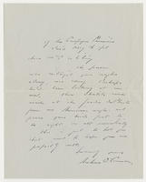 Andrew O'Connor to Mrs. Whitney, May 16, 192[1]