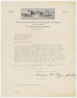 Cornelia B. Sage-Quinton, director, to Mrs. Juliana R. Force, May 10, 1928