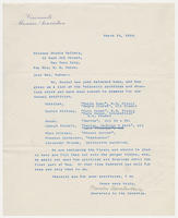 Secretary to the director, Cincinnati Museum Association, to Mrs. Force, March 25, 1929