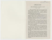 Announcement : the Whitney Studio Club, 1914-1928
