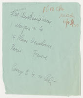 Frances M. Wintringham to [Whitney Studio Club]