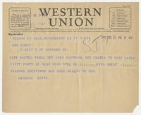 Herndon Smith to Mrs. Force, Dec 21, 1927, 2:42 PM