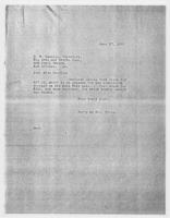 Sec'y to Mrs. Force to E.W. Heaslip, secretary, the Arts and Crafts Club,  June 27, 1928