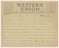 Russell Plimpton to Mrs. Juliana R. Force, Dec 14, 1927, 7:01 PM