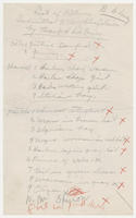 List of pictures submitted to the Whitney Galleries by Beauford DeLaney