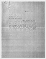 JRF to Mr. Herbert Fleischhacker, March 13, 1928