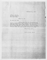 Sec'y to Mrs. Force to John C. Fox Co., February 15, 1928