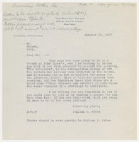 Whitney Studio form letter copy to the American Letter Co., October 18, 1927