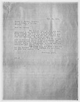 JRF to Robert B. Harshe, Feb. 25, 1929