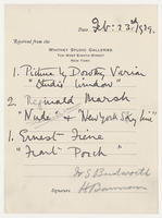 1 picture by Dorothy Varian, Feb. 23rd, 1929