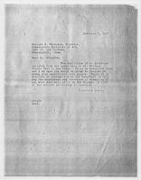 JRF to Russell A. Plimpton, November 5, 1927