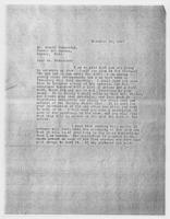 JRF to Mr. Arnold Ronnebeck, November 30, 1927