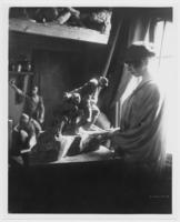 Portrait of Gertrude Vanderbilt Whitney in her studio