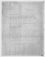 Secretary to Mrs. Force to Mrs. Charles C. Rumsey, October 25, 1927