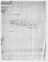 JRF to Mr. Charles Rosen, Jan. 29, 1929